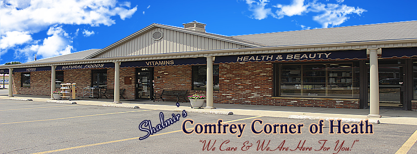 Shalmir's Comfrey Corner in Heath present location.